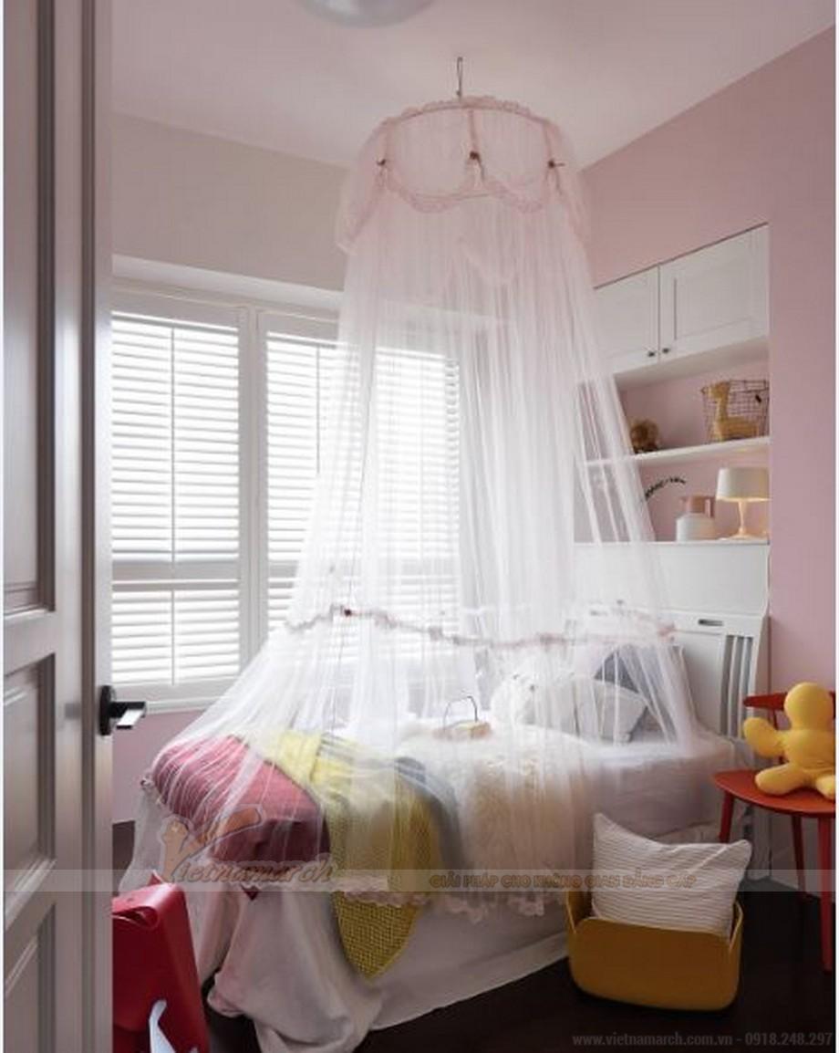 Thiết kế nội thất phòng ngủ đẹp lung linh cho căn hộ Vinhome Skylake-04