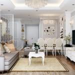 Tư vấn phương án thiết kế nội thất căn 1 phòng ngủ Vinhomes D'Capitale