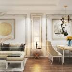 Tư vấn phương án thiết kế nội thất căn 2 phòng ngủ Vinhomes D'Capitale