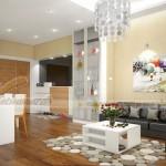 Tư vấn thiết kế nội thất căn 1 phòng ngủ tòa A1 Vinhomes Gardenia