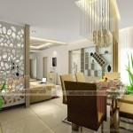 Lột xác không gian sống của gia đình với vách ngăn trang trí cao cấp