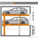 Hệ thống bãi đỗ xe thông minh MultiVario 2082