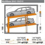 Bãi đỗ xe MultiBase 2042 -155/310