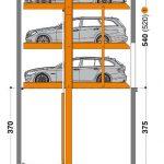 Hệ thống bãi đỗ xe thông minh MultiBase G63