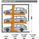 Hệ thống bãi đỗ xe Singleup 3015