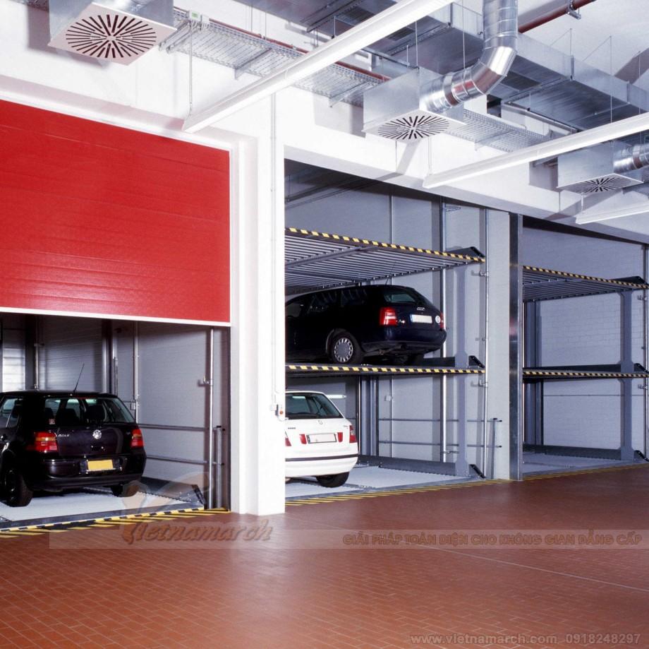 Ứng dụng của bãi đỗ xe thông minh multibase G63