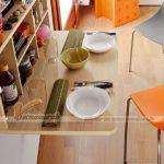 Mẫu bàn ăn thông minh đem đến sự tiện ích bất ngờ cho gia đình bạn