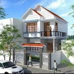 Các mẫu nhà mái thái 2 tầng đẹp, chi phí khoảng 500 triệu phù hợp cho vợ chồng mới cưới