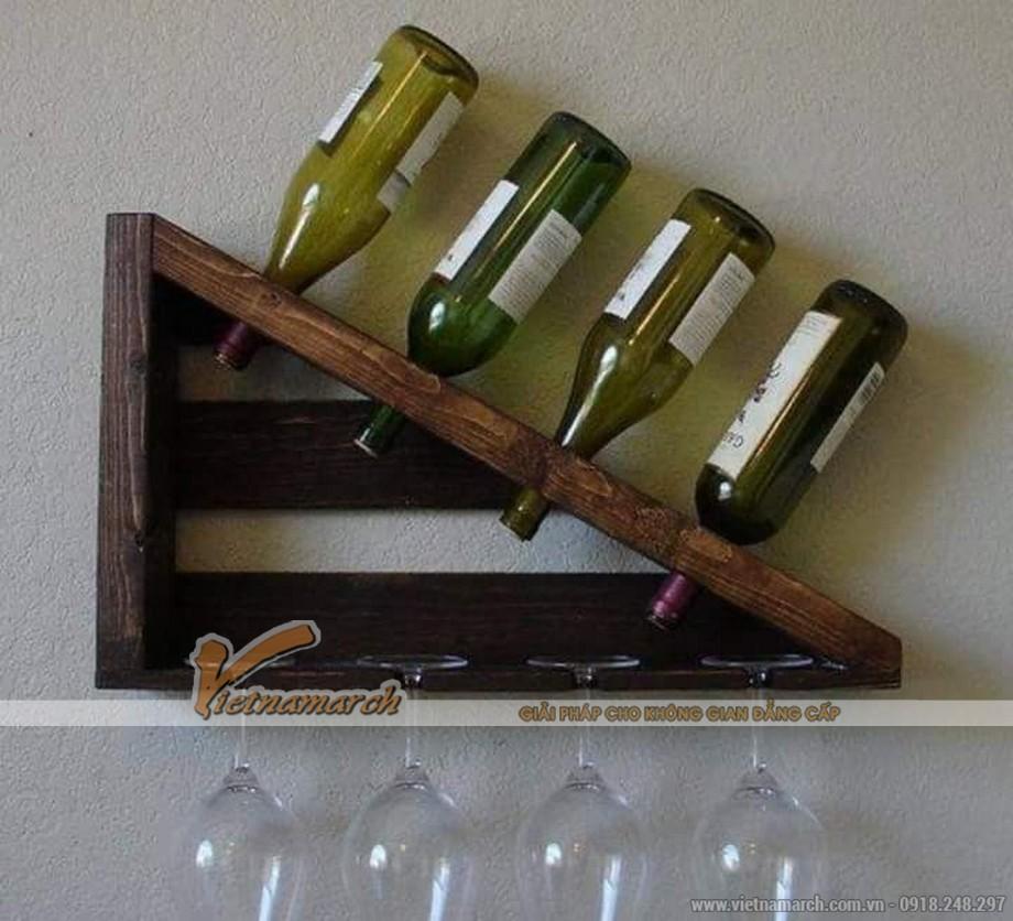 Các mẫu tủ rượu treo tường đẹp không thể bỏ qua-07
