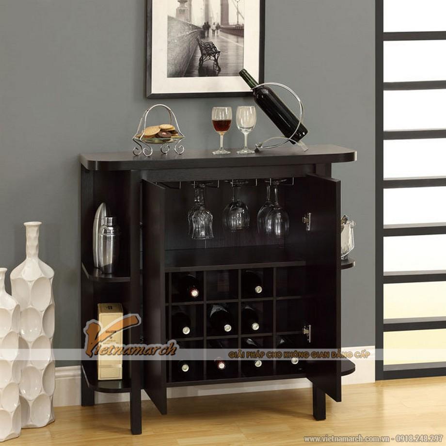 Một số mẫu tủ rượu hiện đại kích thước nhỏ cho không gian nội thất sang trọng-02