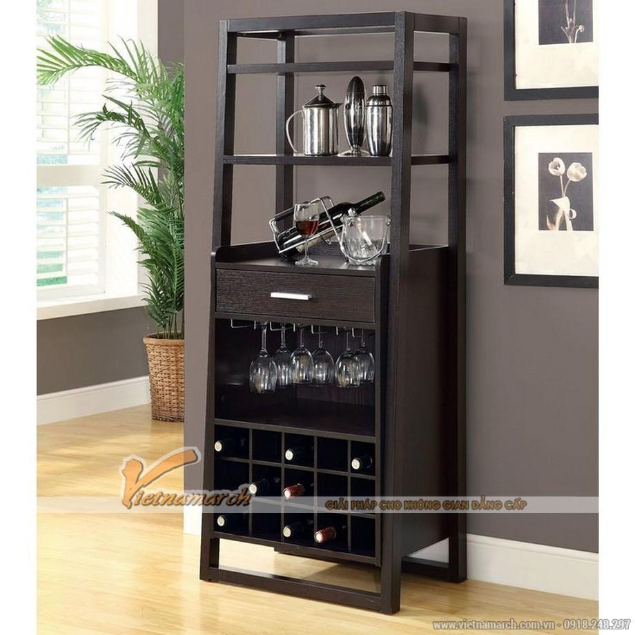 Một số mẫu tủ rượu hiện đại kích thước nhỏ cho không gian nội thất sang trọng-03