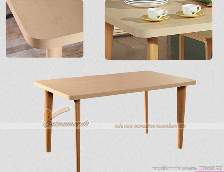 Mẫu bàn ăn hiện đại, thiết kế phá cách cho không gian phòng bếp