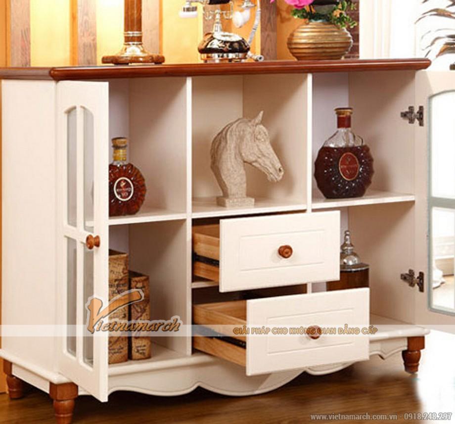 Một số mẫu tủ rượu gỗ sang trọng cho phòng khách-05
