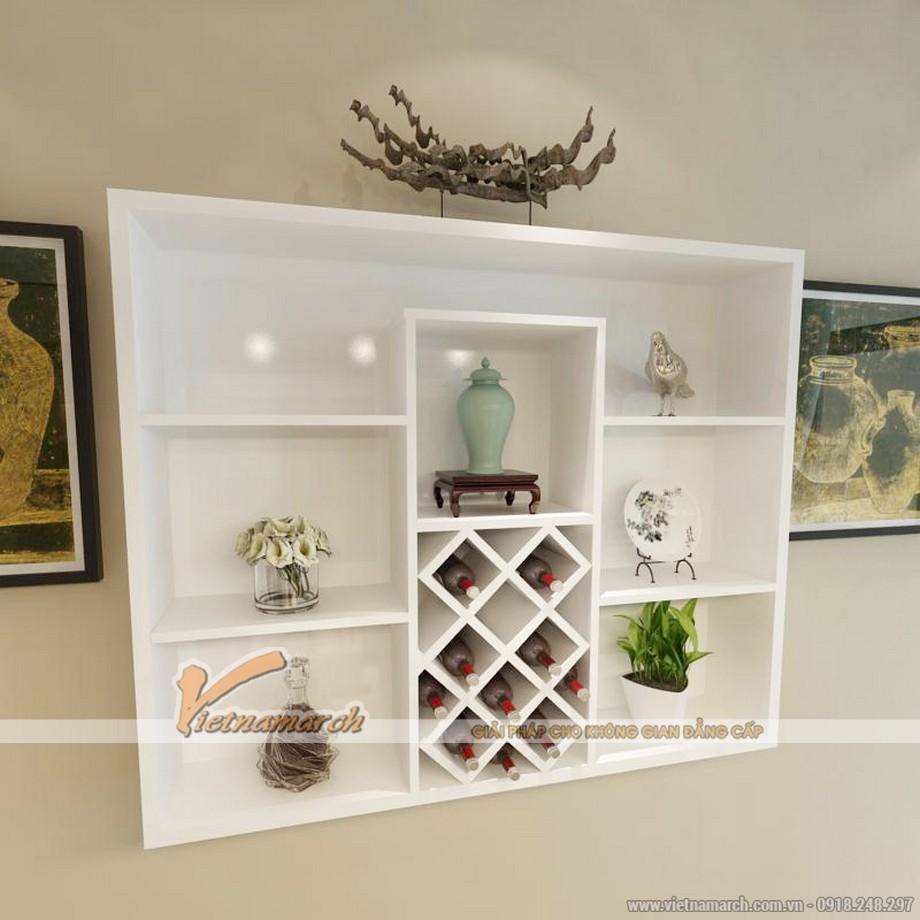 Một số mẫu tủ rượu gỗ sang trọng cho phòng khách-06