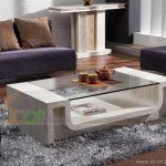 Những mẫu bàn trà mặt kính ấn tượng cho phòng khách