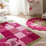 Những mẫu thảm trải sàn đáng yêu cho phòng các bé