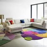 Những mẫu thảm trải sàn phòng khách cực kỳ ấn tượng