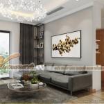 Nội thất đẹp lung linh cho căn hộ 07 tòa G2 chung cư Vinhome Green Bay