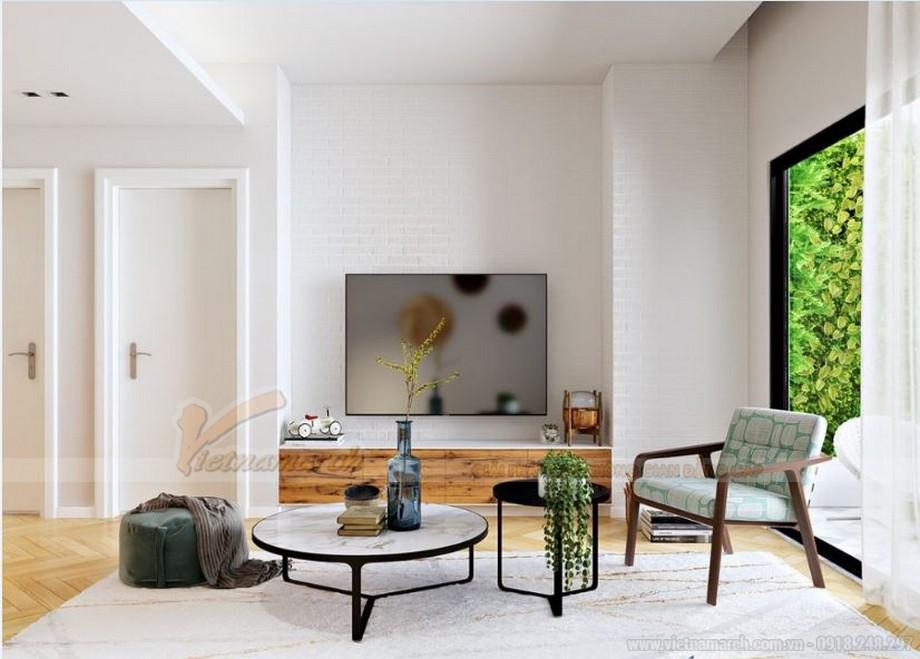 Mẫu thiết kế nội thất hiện đại căn hộ 02 tòa G2 Vinhome Green Bay-02