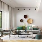 Mẫu thiết kế nội thất hiện đại căn hộ 02 tòa G2 Vinhome Green Bay