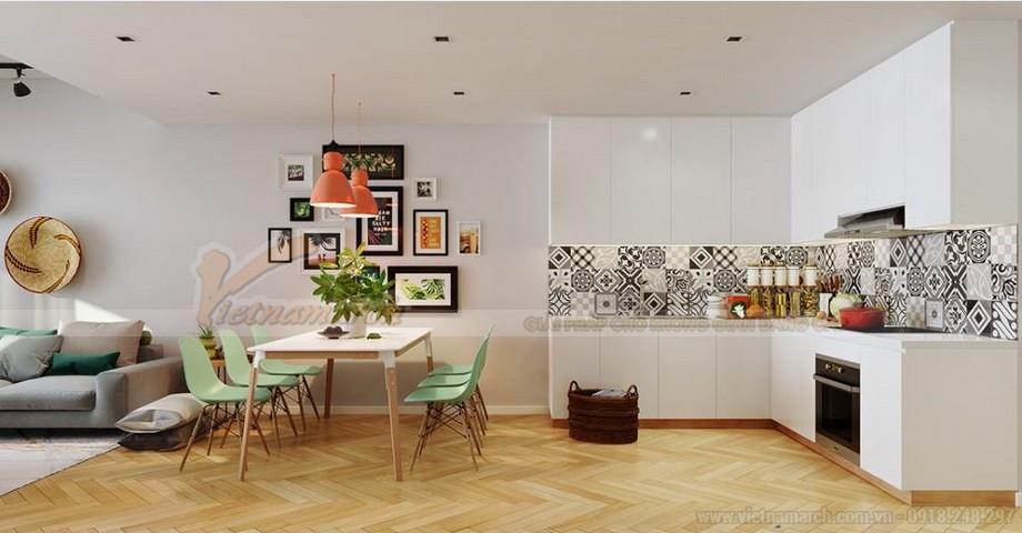 Mẫu thiết kế nội thất hiện đại căn hộ 02 tòa G2 Vinhome Green Bay-05
