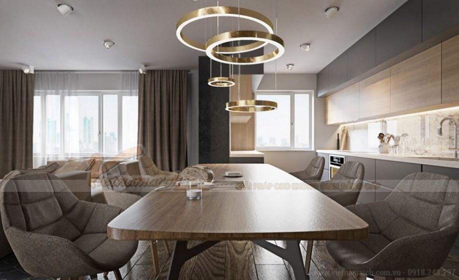 Thiết kế nội thất hiện đại cho căn hộ 12 tòa G1 chung cư Vinhome Green Bay-04