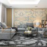 Nội thất hoàn hảo căn hộ 3 phòng ngủ tòa Sapphire 2 chung cư Goldmark City