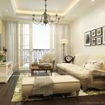 Phong cách bán cổ điển trong căn hộ dưới 70m2 tại chung cư Imperia Garden