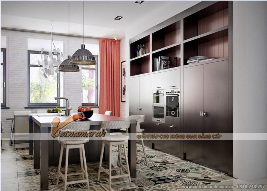 Phương án thiết kế nội thất căn hộ 2 phòng ngủ VINHOMES D'CAPITALE-03