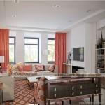 Phương án thiết kế nội thất căn hộ 2 phòng ngủ  VINHOMES D'CAPITALE