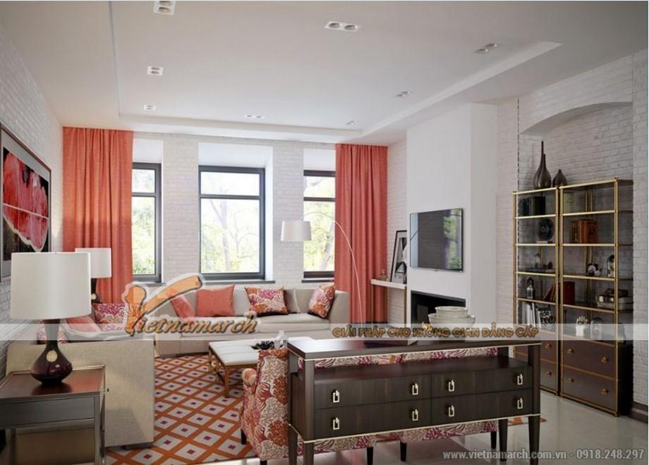 Phương án thiết kế nội thất căn hộ 2 phòng ngủ VINHOMES D'CAPITALE-01