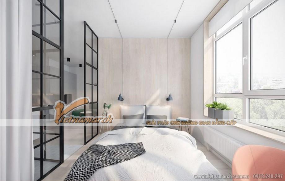 Phương án thiết kế nội thất căn hộ 2 phòng ngủ VINHOMES D'CAPITALE-04