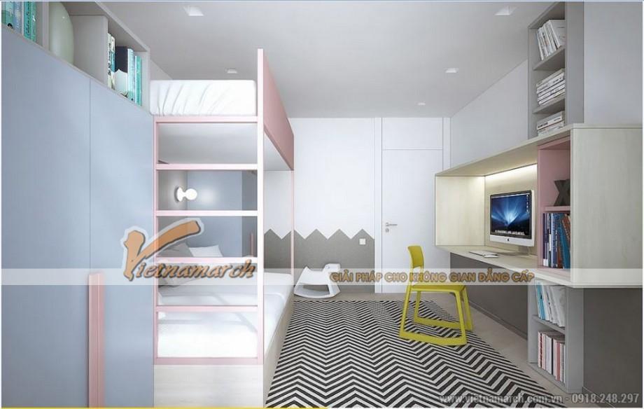 Phương án thiết kế nội thất căn hộ 2 phòng ngủ VINHOMES D'CAPITALE-05