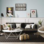 Phương án thiết kế nội thất phong cách Bắc Âu cho căn hộ 04 tòa Sapphire 3 Goldmark City