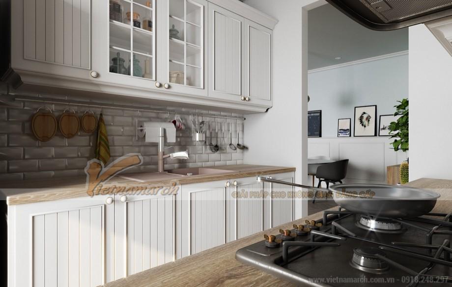 Phòng bếp hoàn hảo nhờ cách bố trí đồ nội thất tối ưu