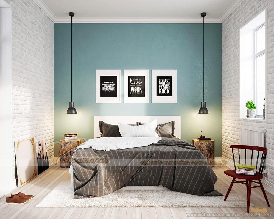 Phòng ngủ thứ 2 đơn giản nhưng cá tính