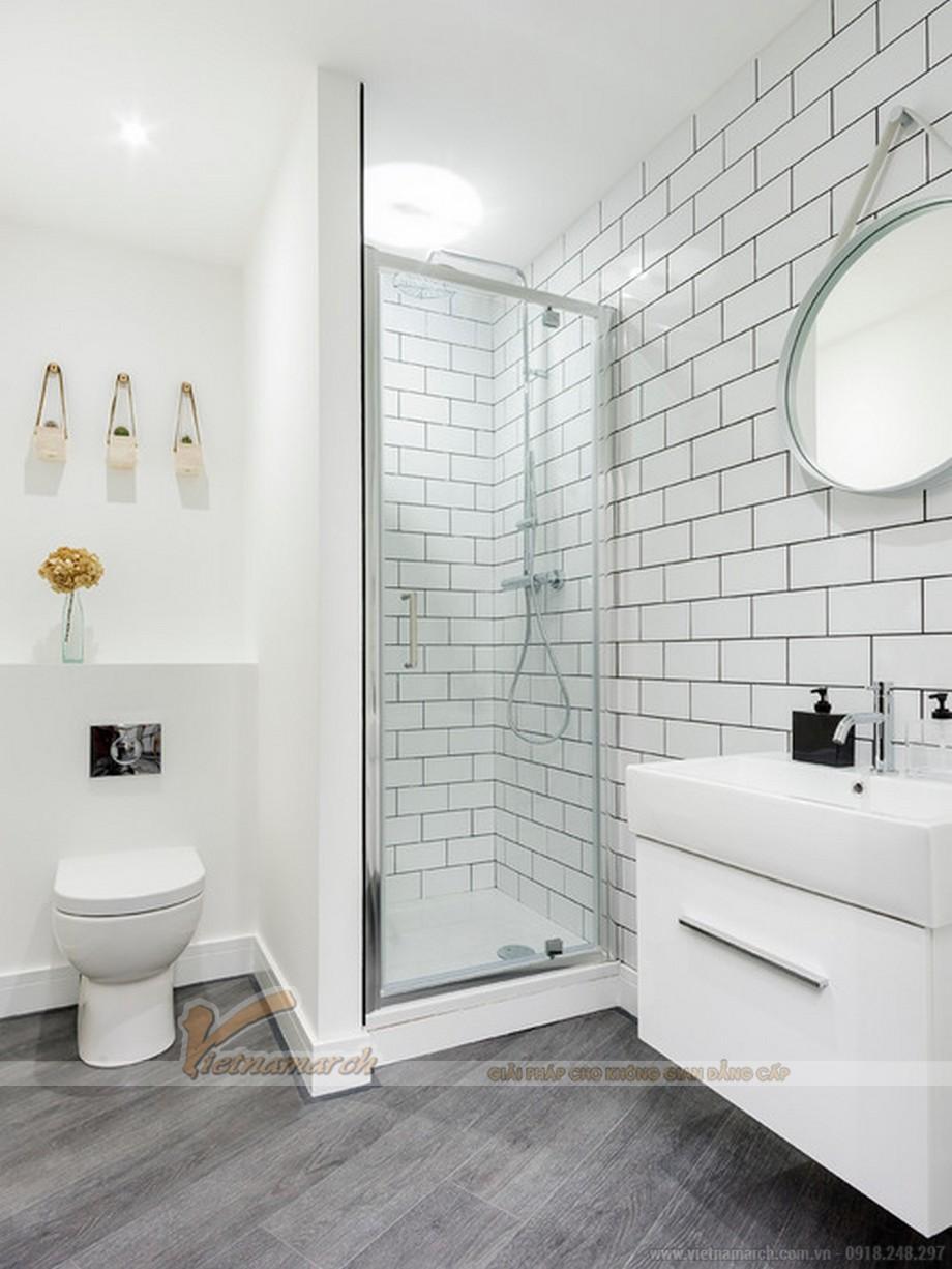 Phòng tắm hiện đại, tiện nghi