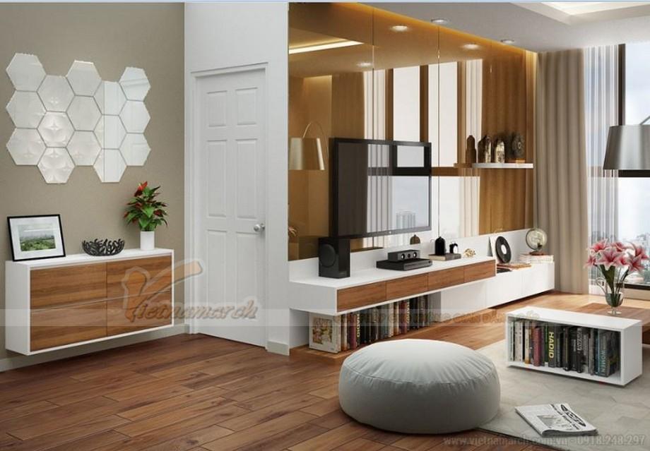 Phương án thiết kế nội thất cho căn hộ 03 tòa G1 Vinhome Green Bay-03