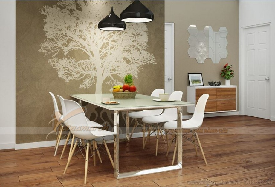 Phương án thiết kế nội thất cho căn hộ 03 tòa G1 Vinhome Green Bay-04