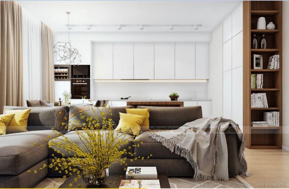 Nội thất hiện đại sang trọng cho căn hộ 03 tòa G1 chung cư Vinhome Green Bay-03