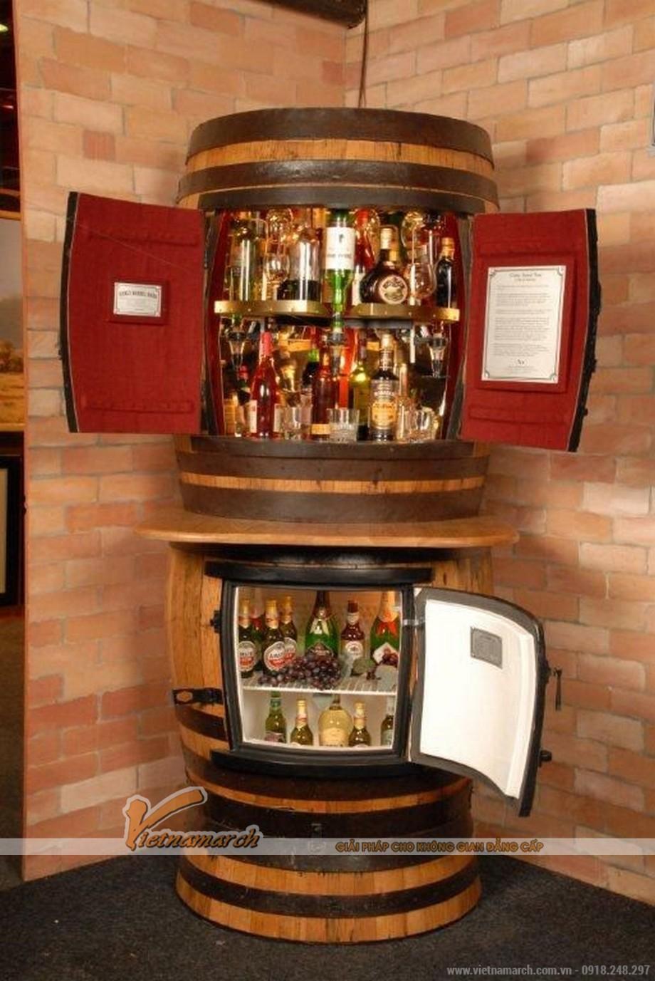 Tổng hợp các mẫu tủ rượu hiện đại cho không gian nội thất thêm sang trọng-02