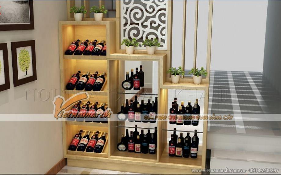 Tổng hợp các mẫu tủ rượu hiện đại cho không gian nội thất thêm sang trọng-03