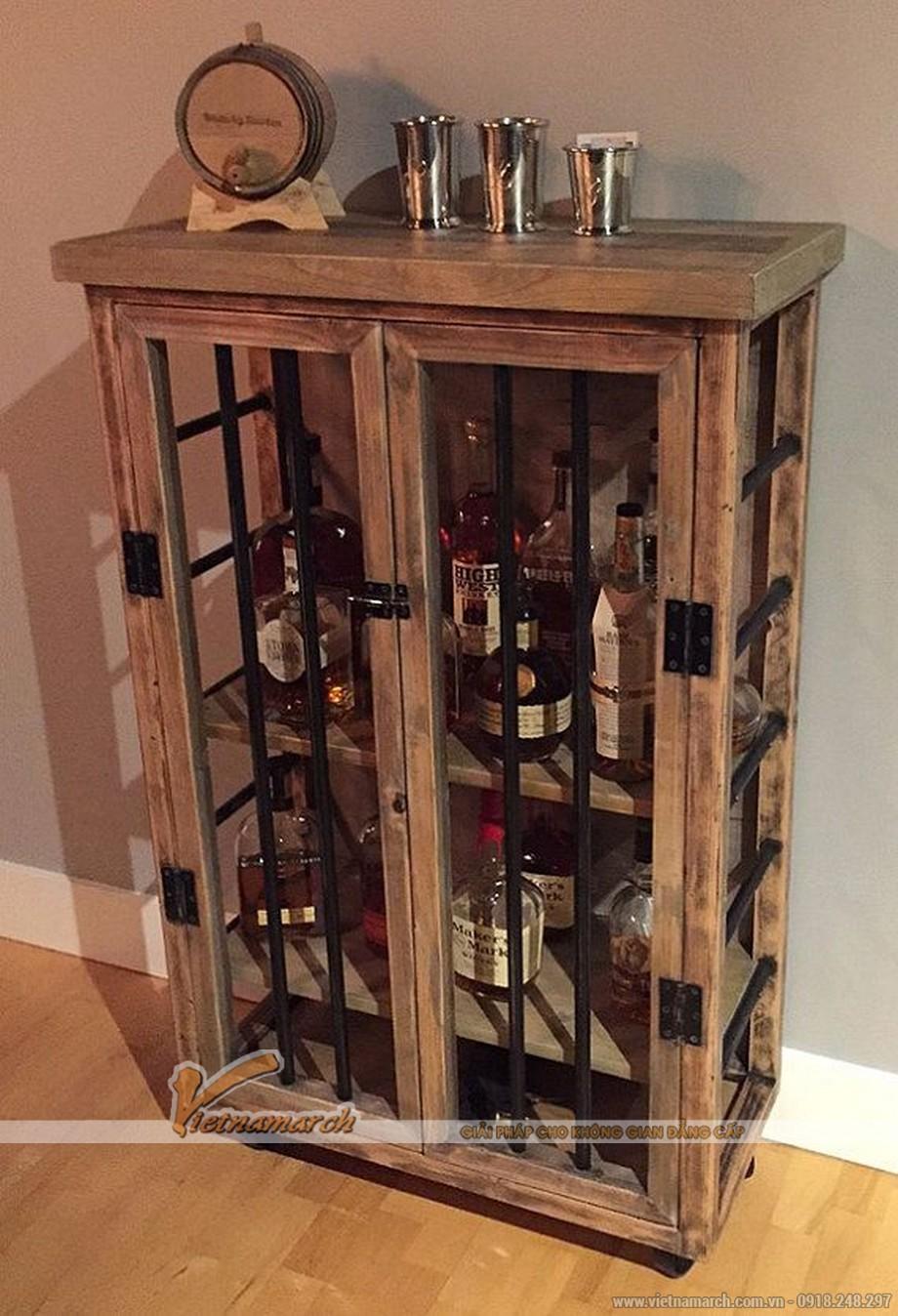 Tổng hợp các mẫu tủ rượu hiện đại cho không gian nội thất thêm sang trọng-04