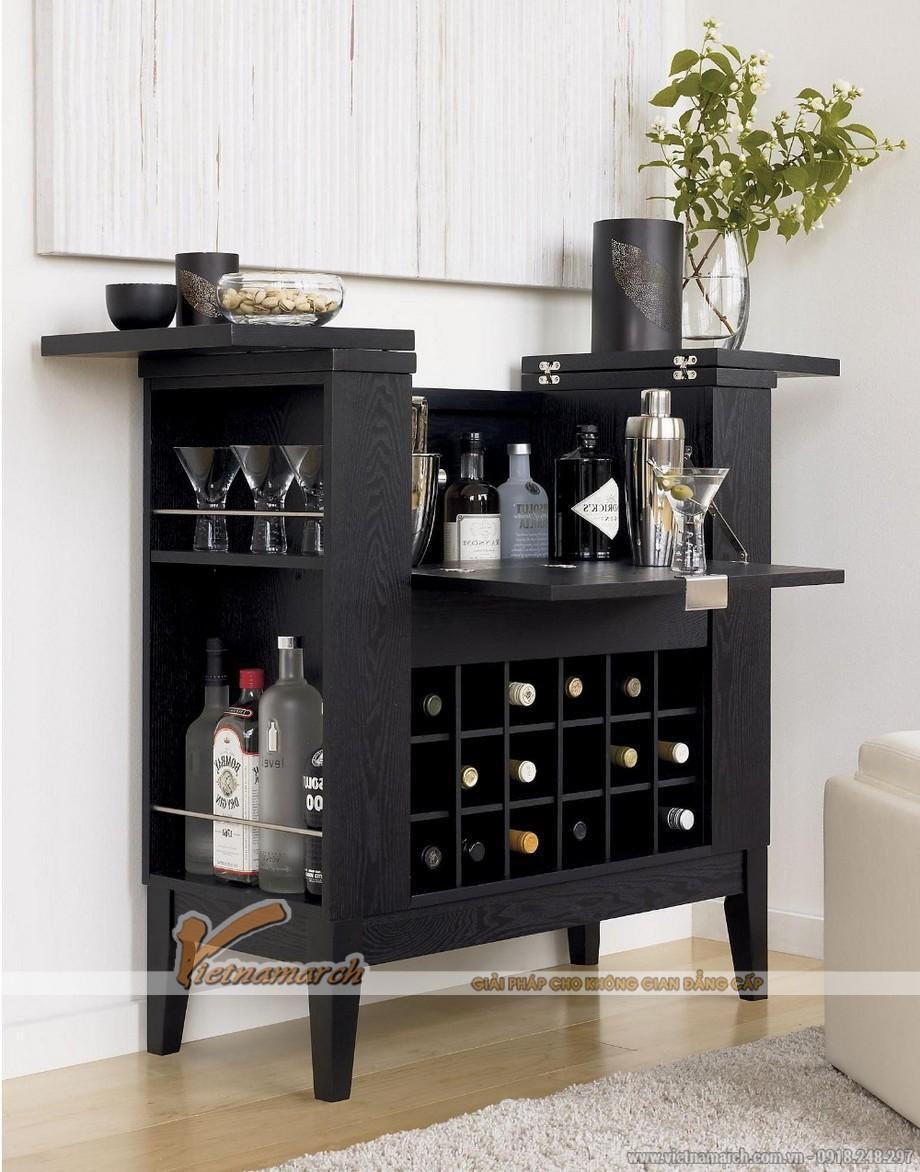 Tổng hợp các mẫu tủ rượu hiện đại cho không gian nội thất thêm sang trọng-06