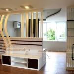 Thiết kế vách ngăn trang trí cho mọi không gian trong căn hộ