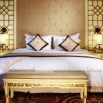 Tại sao nên sử dụng vách ngăn trang trí phòng ngủ bằng gỗ ?