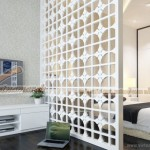 Vách ngăn CNC phòng ngủ cho không gian đẹp như mơ