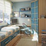 Những mẫu tủ quần áo phù hợp với không gian nhỏ bé
