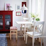 Mở rộng không gian phòng bếp với bàn ăn thông minh tone màu trắng