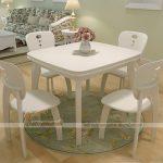 Nâng cấp không gian sống với bộ bàn ghế ăn hiện đại nhất hiện nay